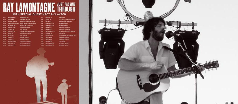 Ray LaMontagne at Toyota Oakdale Theatre