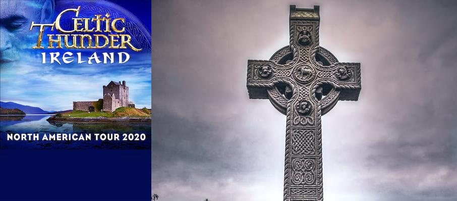 Celtic Thunder at Mortensen Hall - Bushnell Theatre