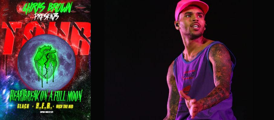 Chris Brown at XL Center