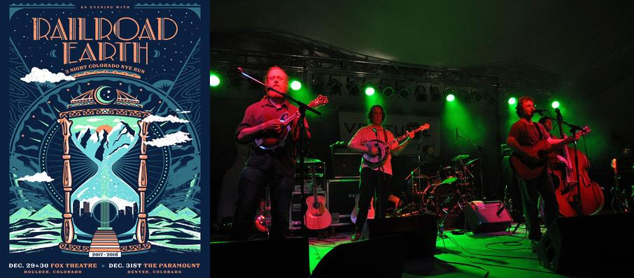 Railroad Earth at Infinity Music Hall & Bistro