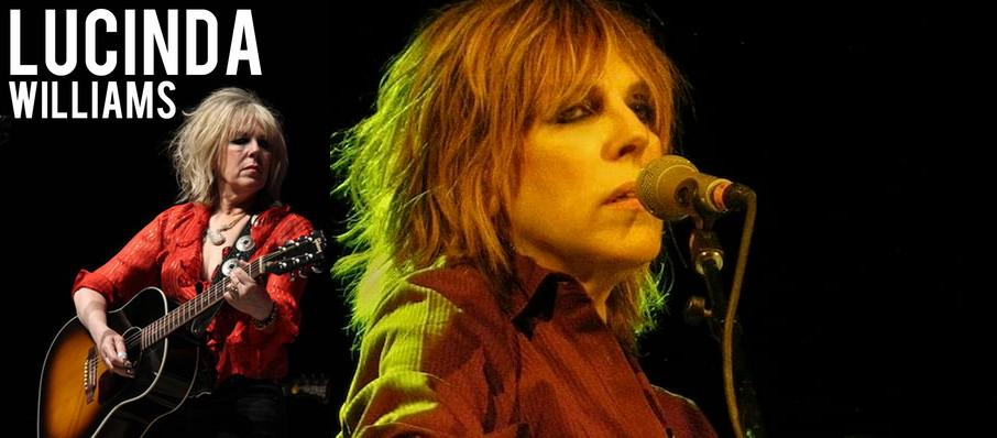 Lucinda Williams at Infinity Music Hall & Bistro