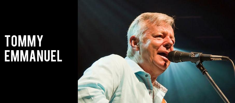 Tommy Emmanuel at Infinity Music Hall & Bistro