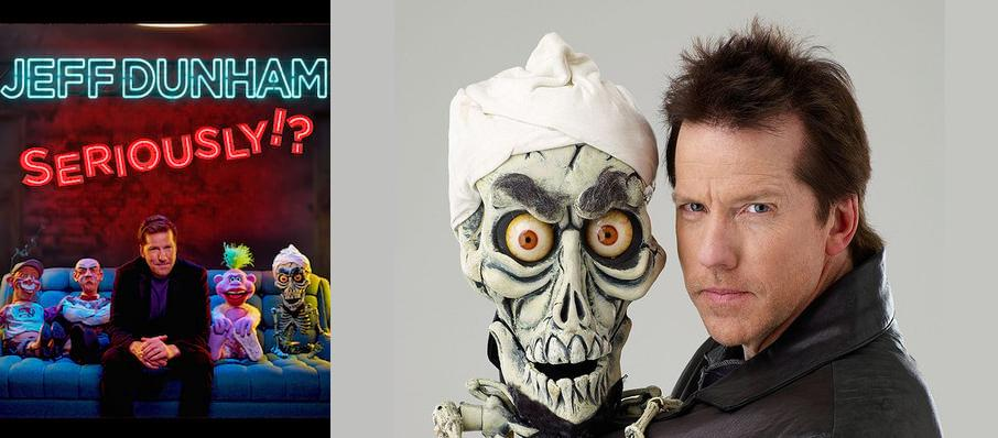 Jeff Dunham at XL Center