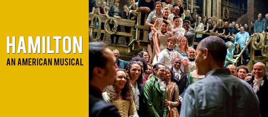 Hamilton at Mortensen Hall - Bushnell Theatre