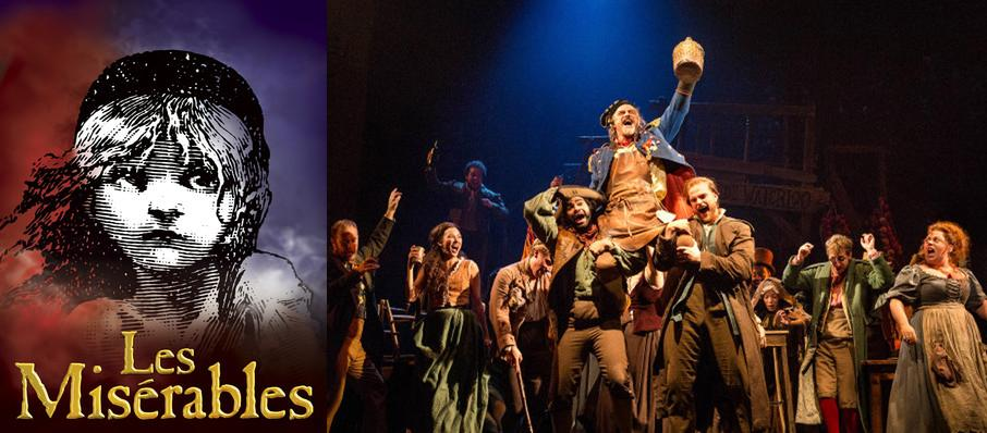 Les Miserables at Mortensen Hall - Bushnell Theatre