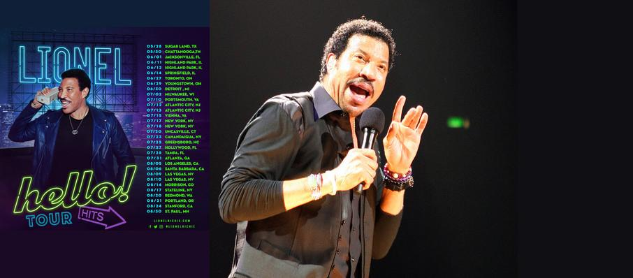 Lionel Richie at Mohegan Sun Arena