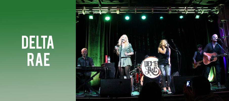 Delta Rae at Infinity Music Hall & Bistro