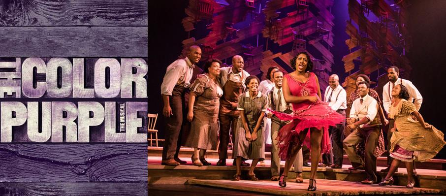 The Color Purple at Mortensen Hall - Bushnell Theatre