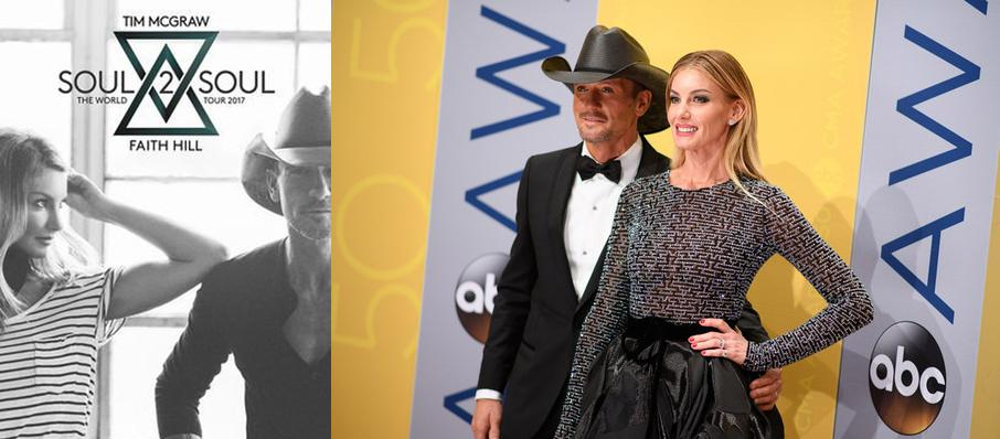 Tim McGraw and Faith Hill at Mohegan Sun Arena