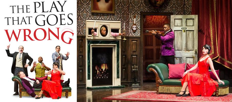 The Play That Goes Wrong at Mortensen Hall - Bushnell Theatre