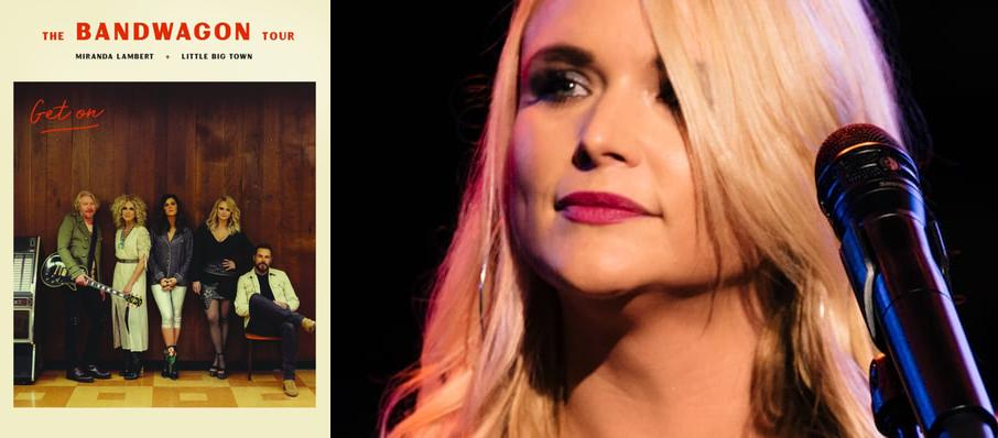 Miranda Lambert with Little Big Town at Xfinity Theatre