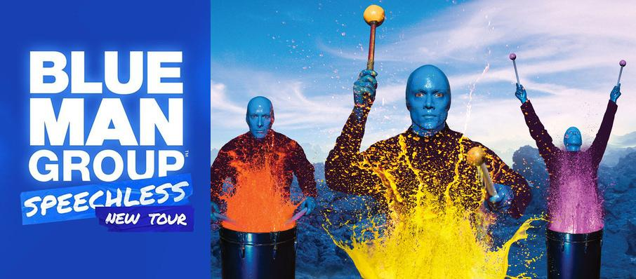 Blue Man Group at Mortensen Hall - Bushnell Theatre