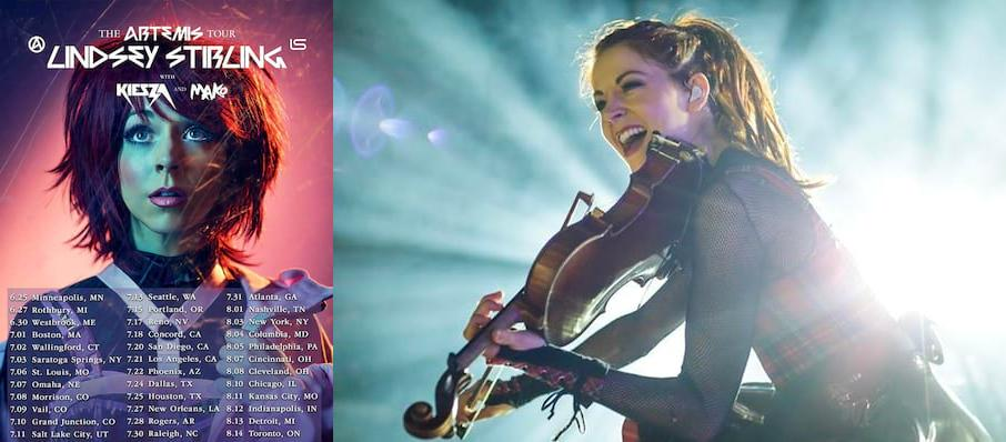 Lindsey Stirling at Toyota Oakdale Theatre