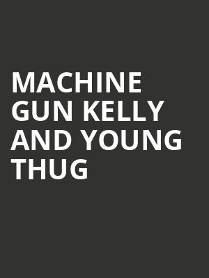 Machine Gun Kelly and Young Thug at Xfinity Theatre