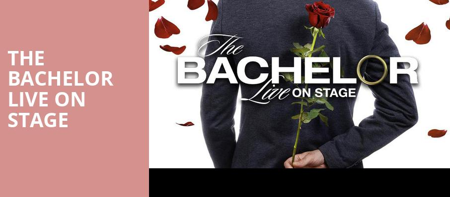 The Bachelor Live On Stage, Mohegan Sun Arena, Hartford