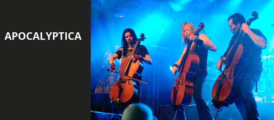 Apocalyptica, Webster Theater, Hartford