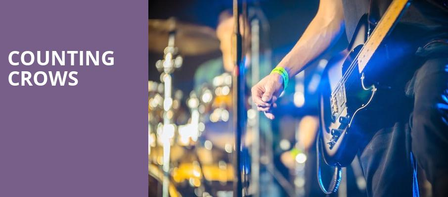 Counting Crows, Xfinity Theatre, Hartford