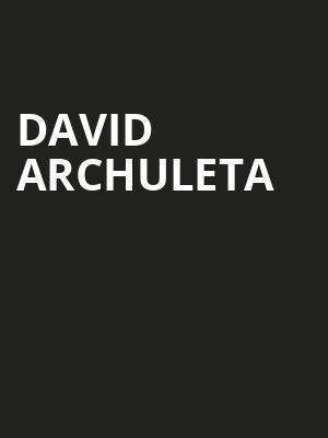 David Archuleta, Infinity Music Hall Bistro, Hartford