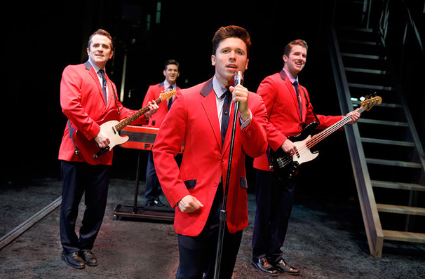 Jersey Boys, Mortensen Hall Bushnell Theatre, Hartford