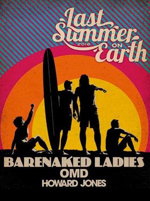 Barenaked Ladies, Orchestral Manoeuvres In The Dark & Howard Jones Poster
